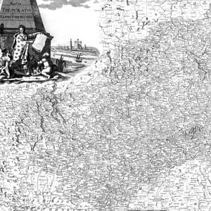 Карта Тверского наместничества 1792 год